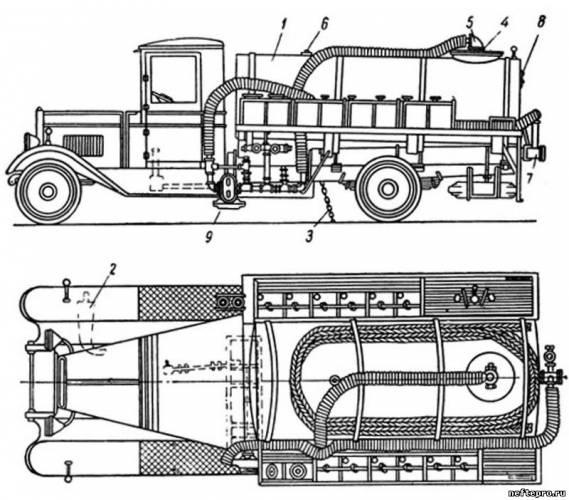 чертеж автоцистерны завода «