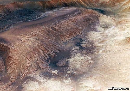 Гранд каньон на Марсе